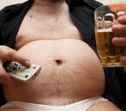 Живот у мужчин от пива: как уменьшить?